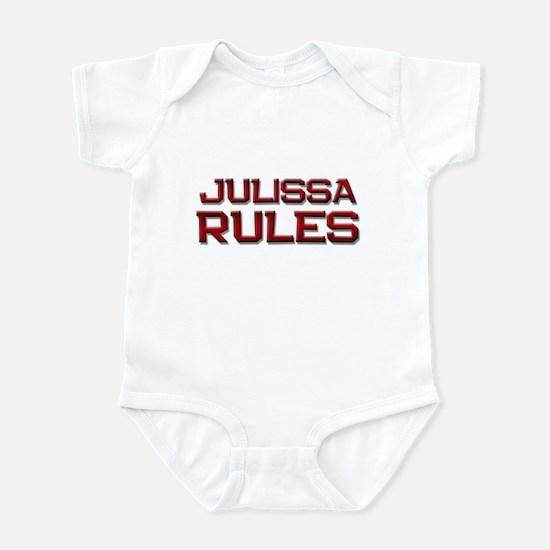 julissa rules Infant Bodysuit