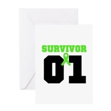 Lymphoma Survivor 1 Years Greeting Card