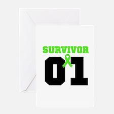 Lymphoma Survivor 1 Years Greeting Card