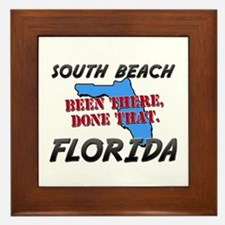 south beach florida - been there, done that Framed