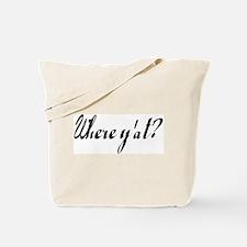 Funny Yat Tote Bag