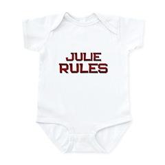 julie rules Infant Bodysuit