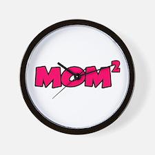 Mom 2 Wall Clock
