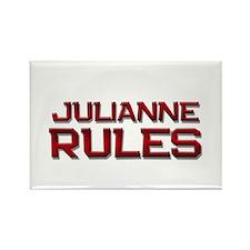 julianne rules Rectangle Magnet