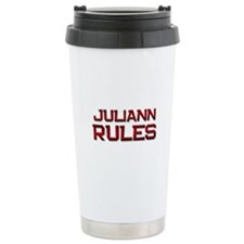 juliann rules Travel Mug