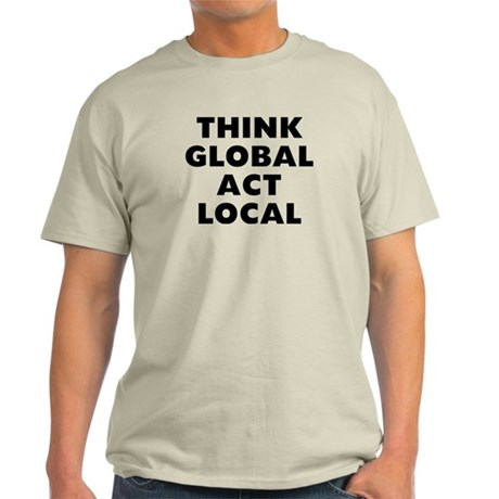 Think Global Light T-Shirt