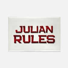 julian rules Rectangle Magnet