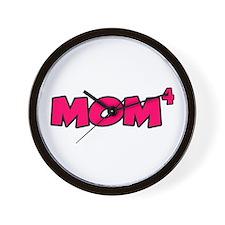 Mom 4 Wall Clock