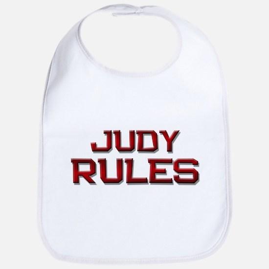 judy rules Bib