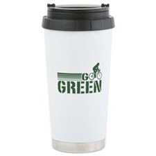 Go Green Cycling (female) Travel Mug