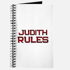 judith rules Journal