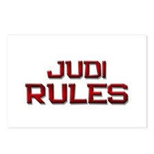 judi rules Postcards (Package of 8)