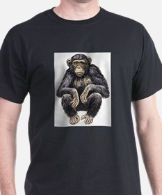 Chimpanzee drawing T-Shirt