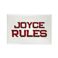 joyce rules Rectangle Magnet