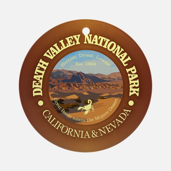 Death Valley NP Round Ornament
