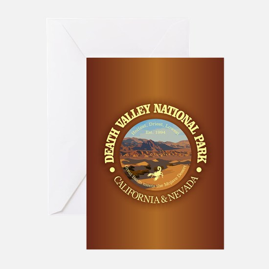 Death Valley NP Greeting Cards