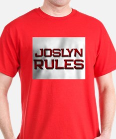 joslyn rules T-Shirt