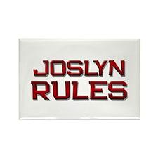 joslyn rules Rectangle Magnet