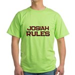 josiah rules Green T-Shirt