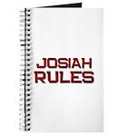 josiah rules Journal