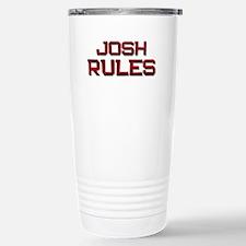 josh rules Travel Mug