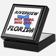 riverview florida - been there, done that Keepsake