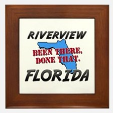 riverview florida - been there, done that Framed T