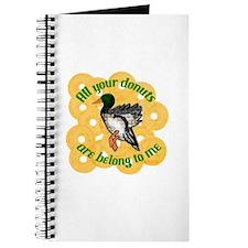 Donut Duck Journal