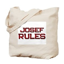 josef rules Tote Bag