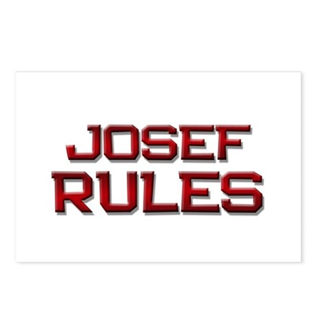 josef rules Postcards (Package of 8)