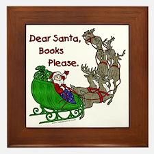 Dear Santa - Kids Printing Framed Tile