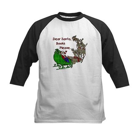 Dear Santa - Kids Printing Kids Baseball Jersey