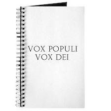 Vox Populi Vox Dei Journal