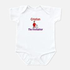 Cristian - Firefighter Infant Bodysuit