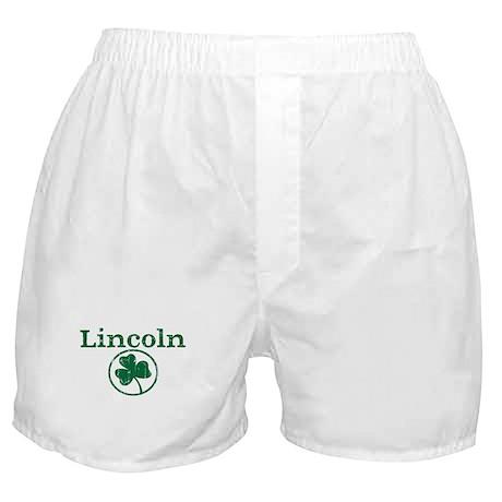 Lincoln shamrock Boxer Shorts