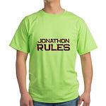 jonathon rules Green T-Shirt