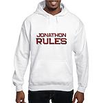 jonathon rules Hooded Sweatshirt