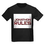jonathon rules Kids Dark T-Shirt