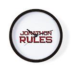 jonathon rules Wall Clock
