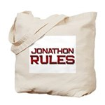 jonathon rules Tote Bag