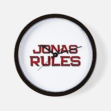 jonas rules Wall Clock