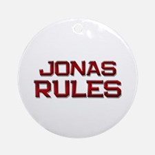 jonas rules Ornament (Round)
