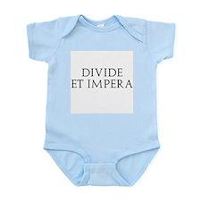 Divide Et Impera Infant Bodysuit