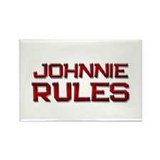 johnnie rules Rectangle Magnet (10 pack)
