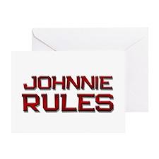 johnnie rules Greeting Card