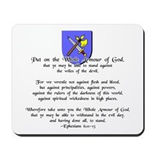 Whole Armour of God Mousepad