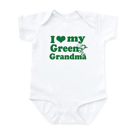 I love my Green Grandma Infant Bodysuit