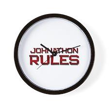 johnathon rules Wall Clock