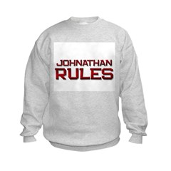 johnathan rules Sweatshirt