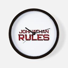 johnathan rules Wall Clock